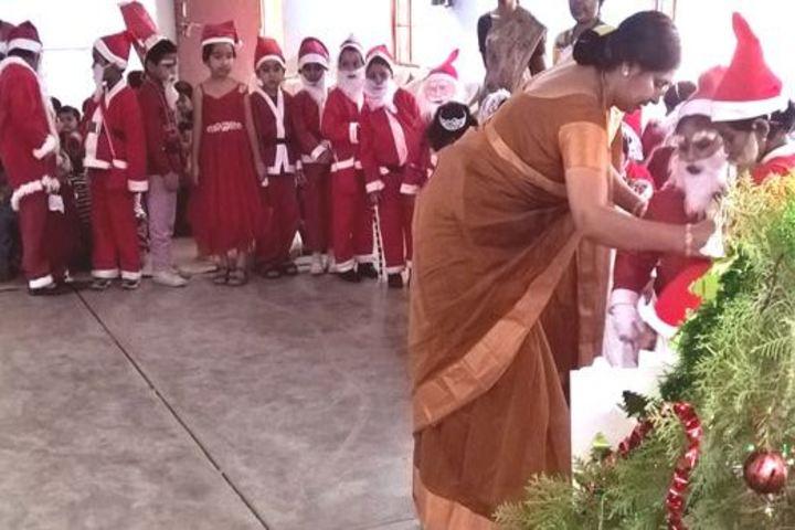 Lakshmipat Singhania Public School-Christmas Celebration
