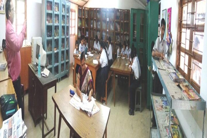 Lakshmipat Singhania Public School-Library