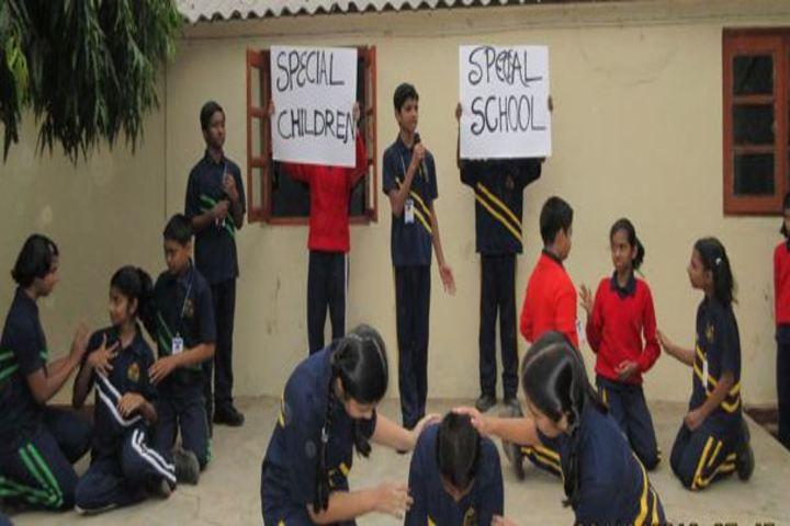 Lakshmipat Singhania Public School-Skit