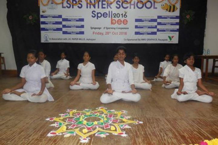 Lakshmipat Singhania Public School-Yoga