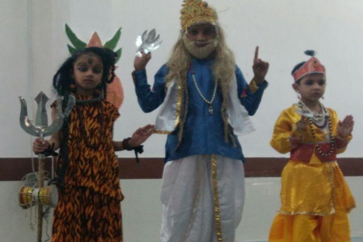 Foundation Academy-Dussehra Celebrations