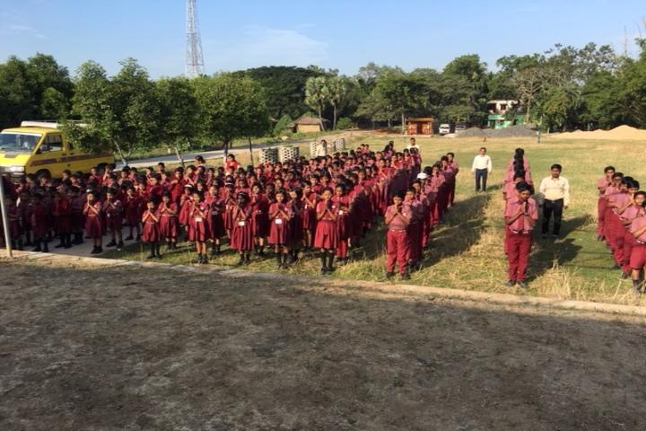 Laxmi Narayan Public School-Morning-Assembly