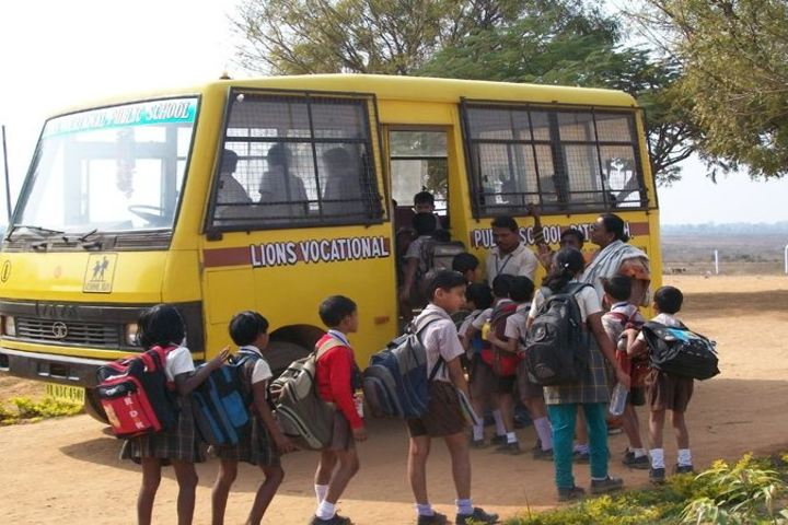Lions Vocational Public School-Transport
