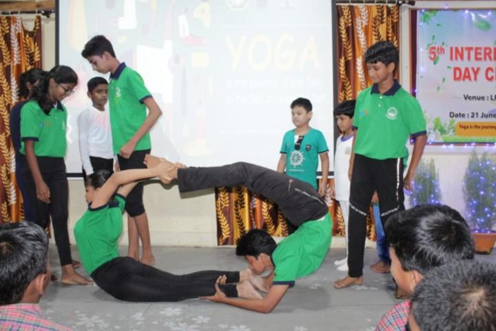 Lajpat Rai DAV Public School-Yoga