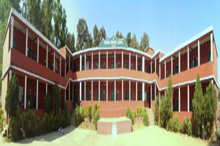 Modern English School-Campus-View1