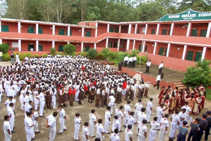 Modern English School-Morning-Assembly