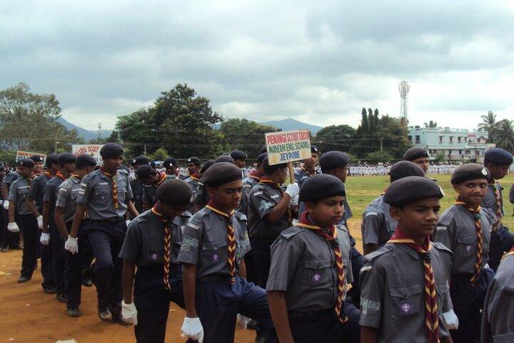 Modern English School-Scouts