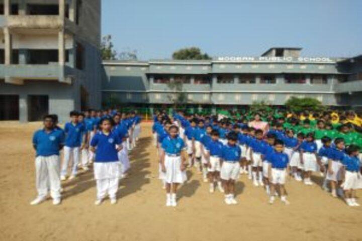 Modern Public School-Morning-Assembly