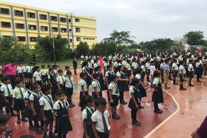 Mount Litera Zee School Berhampur-Morning-Assembly