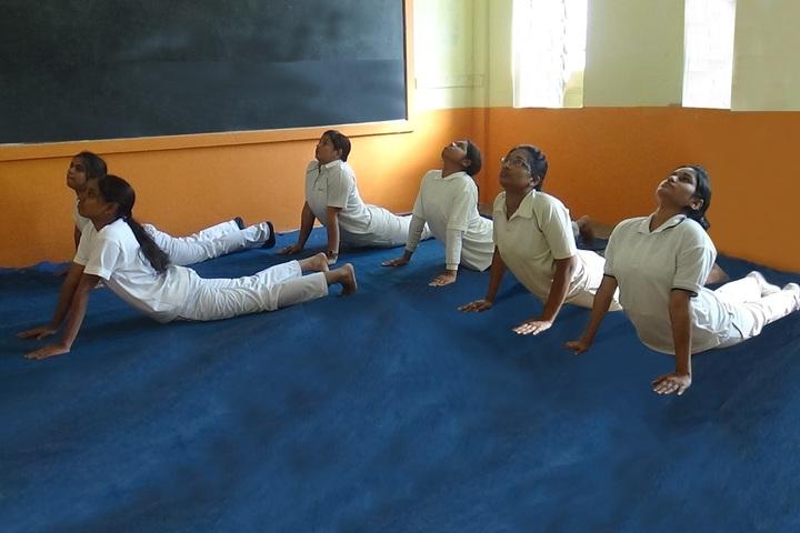 Nalanda Public School-Yoga
