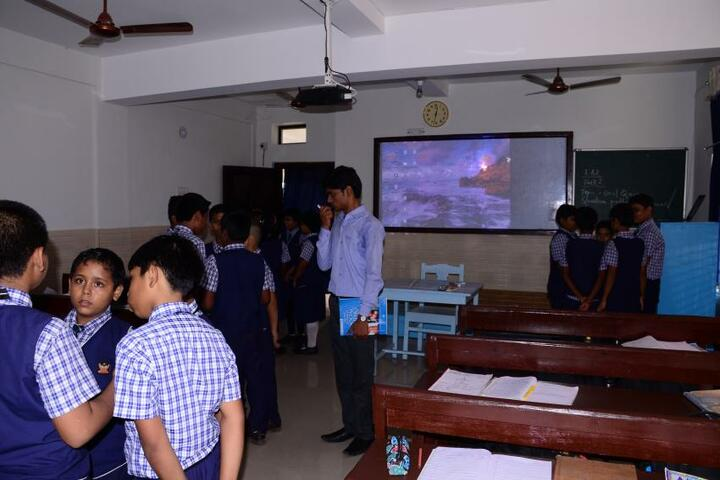 Nri International School-Classroom