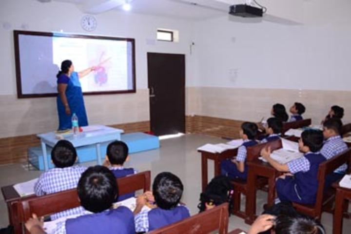 Nri International School-Smartclass