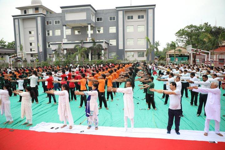 O D M Public School-Yoga