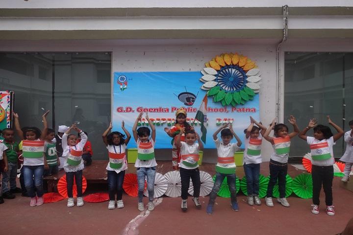 G D Goenka Public School-Independence Day Celebrations