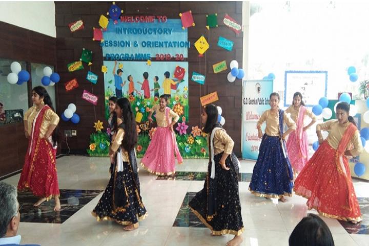 G D Goenka Public School-Orientation Day Celebrations