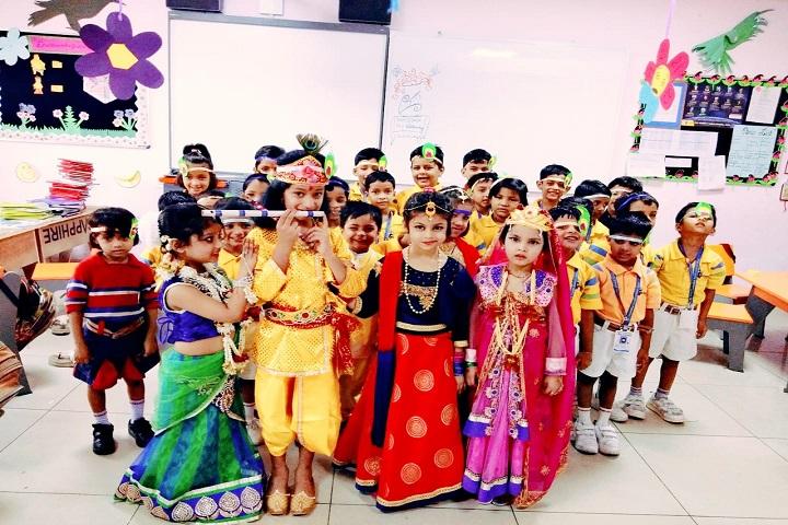 G D Goenka Public School-Diwali Janmashtami Celebrations