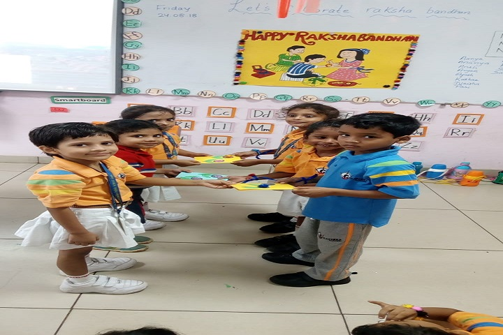 G D Goenka Public School-Rakhi Celebrations