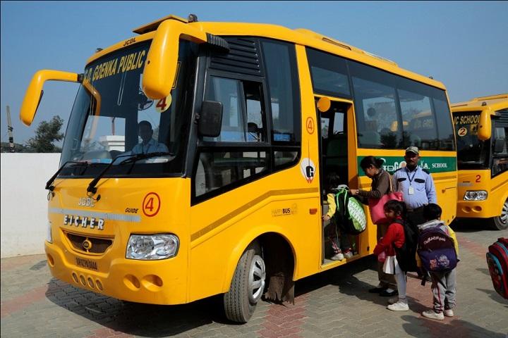 G D Goenka Public School-Transport
