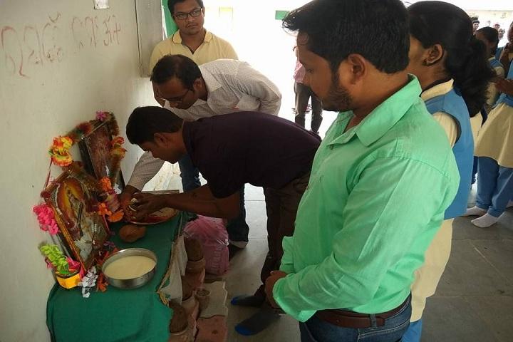 Odisha Adarsh Vidyalaya-Saraswathi Poja