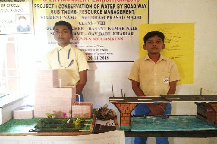 Odisha Adarsha Vidyalaya- Science Exhibtion