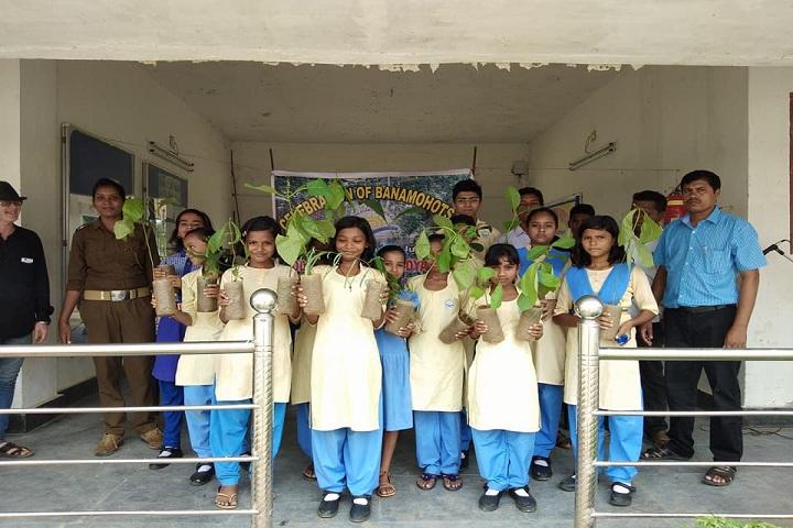Odisha Adarsha Vidyalaya-Plantations day