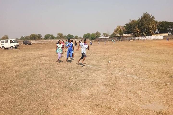 Odisha Adarsha Vidyalaya-Playground