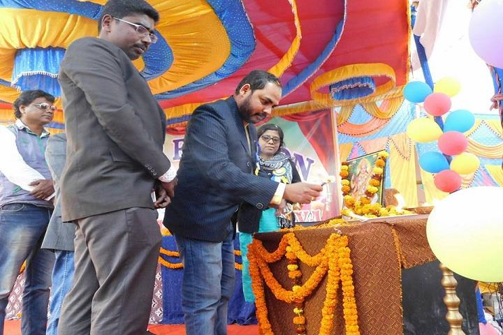 Odisha Adarsha Vidyalaya-Lighting the lamp