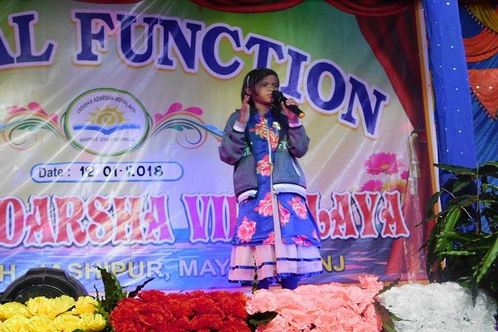 Odisha Adarsha Vidyalaya-Singing