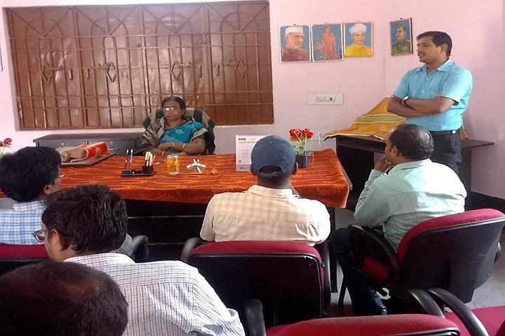 Odisha Adarsha Vidyalaya-Staff meeting