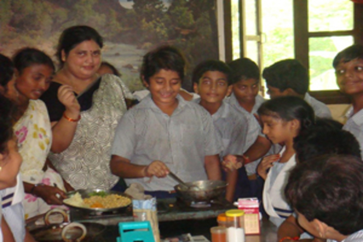 Akshara School-Cooking Activity