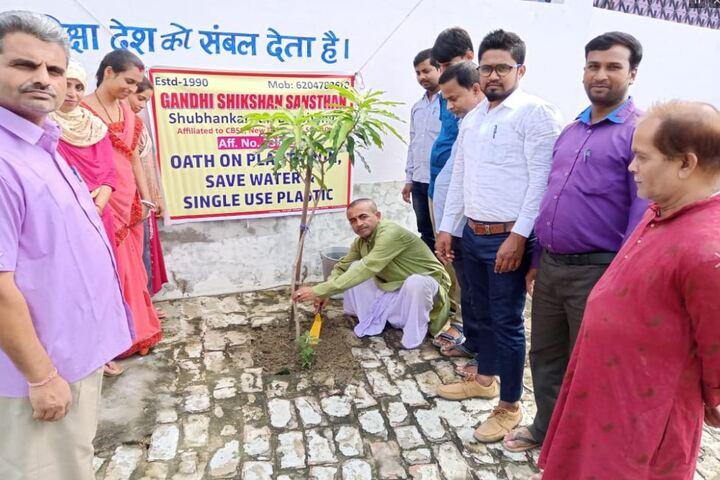 Gandhi Shikshan Sansthan-Tree Plantation