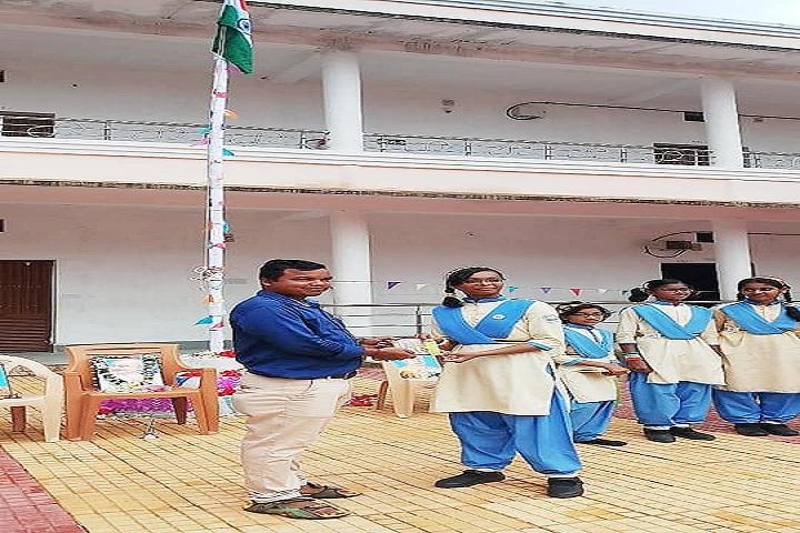 Odisha Adarsha Vidyalaya Sangthan-Republic day