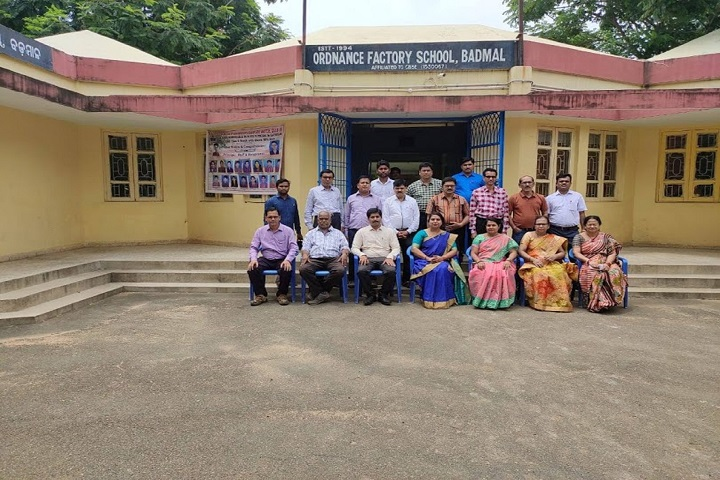 Ordnance Factory School-Staff Group Photo