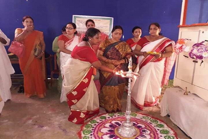 Ganpat Rai Salarpuria Saraswati -Lighting The Lamp