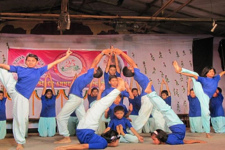 Prabhujee English Medium School-Yoga