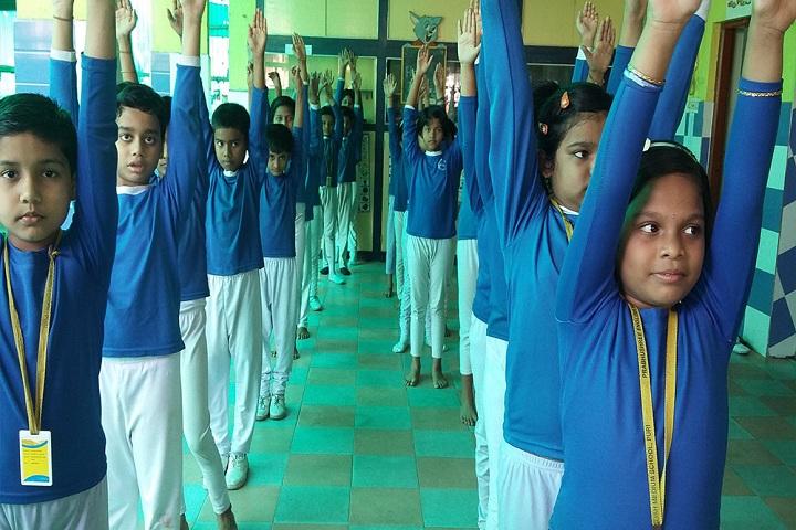 Prabhushree English Medium School-  Yoga
