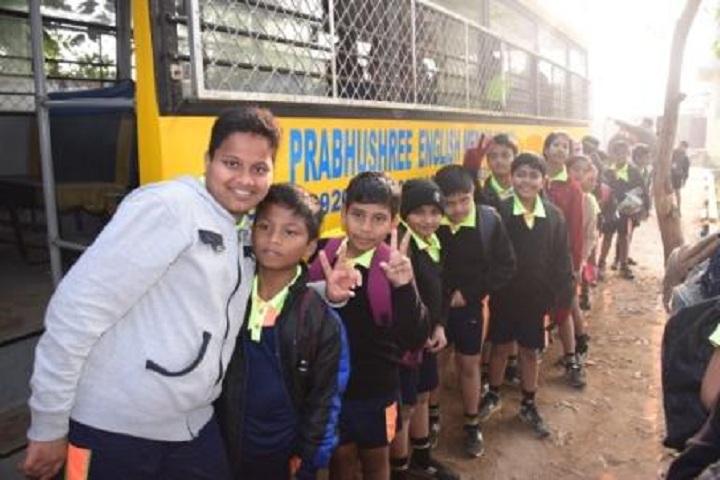 Prabhushree English Medium School-School bus