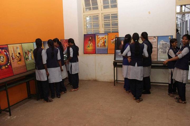 Ramakrishna Mission Ashrama School-Exhibtion