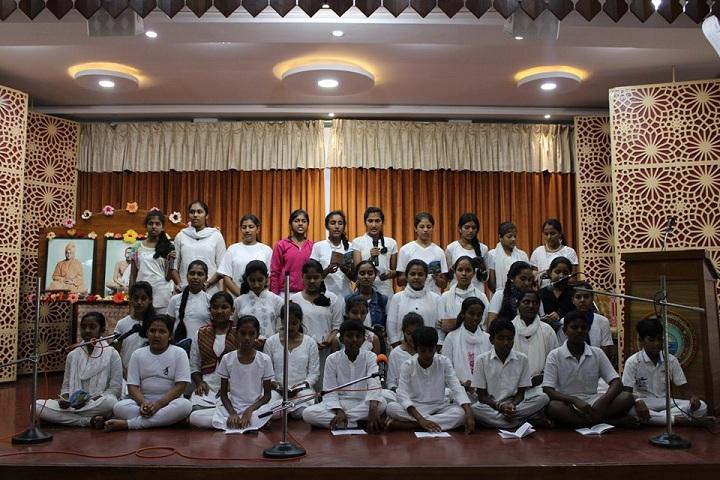 Ramakrishna Mission Ashrama School-Singing
