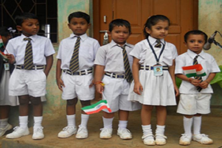 Redwoods English School-Nursery students