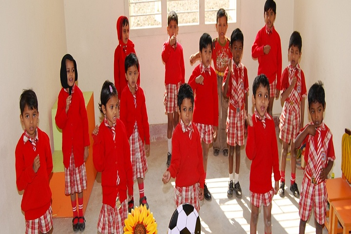 Roshni PublicSchool- Nursery students