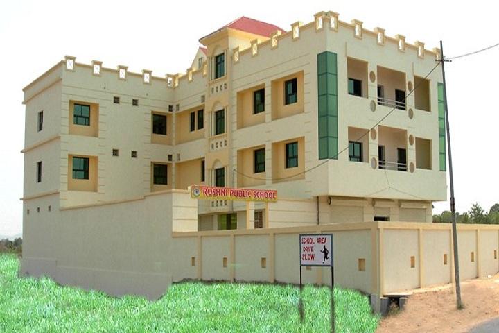 Roshni PublicSchool-School building