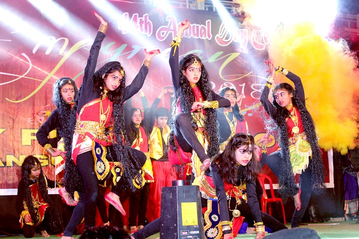 Rotary Public School- Festival dances