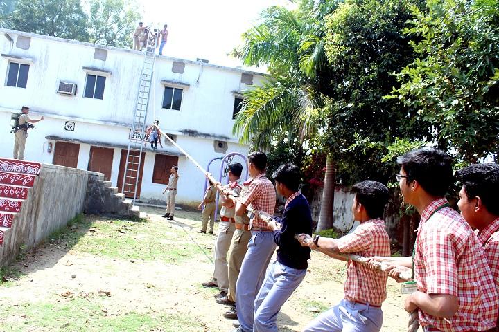 Rotary Public School-Fire demonstration
