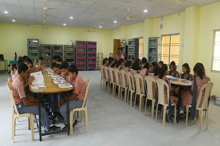 Rotary Public School-Library