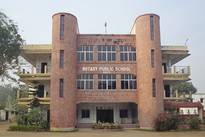 Rotary Public School-School building