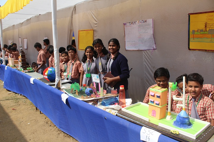 Rotary Public School-Science exhibtion