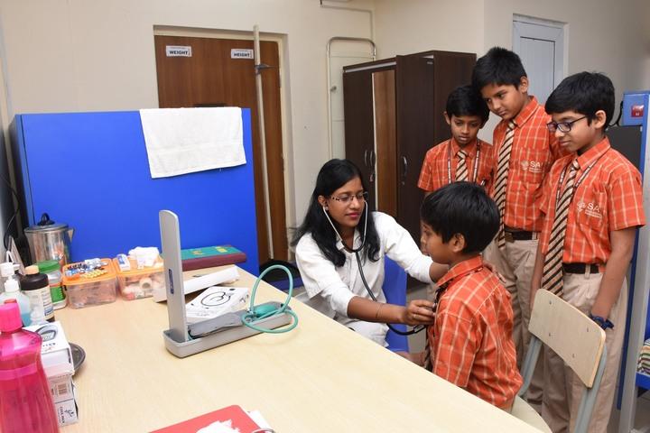 Sai International Residential School-Health Checkup