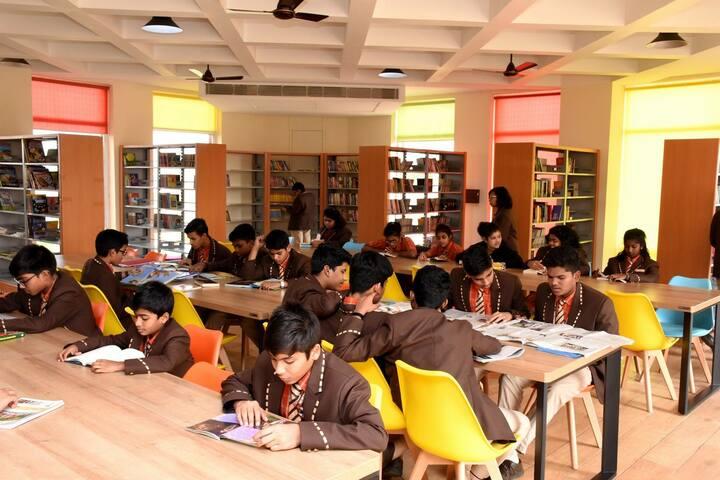 Sai International Residential School-Library