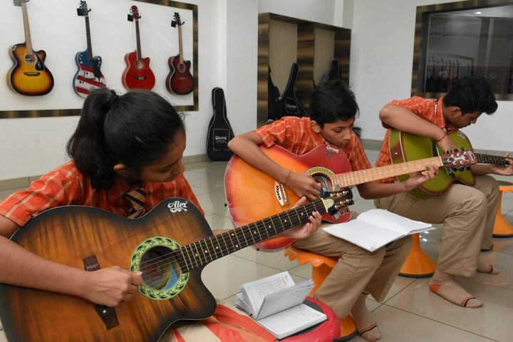Sai International Residential School-Music Room